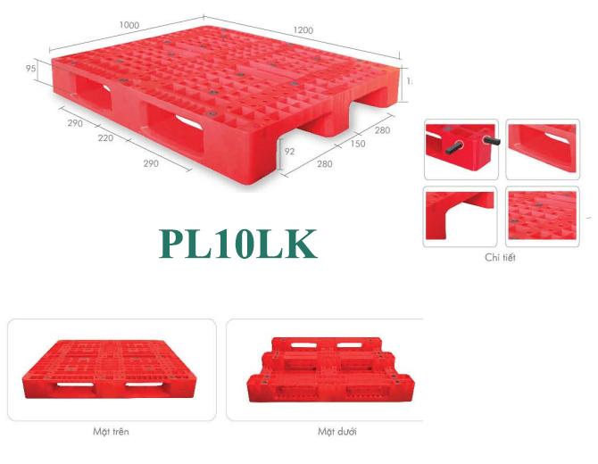 Pallet nhựa Pl10lk