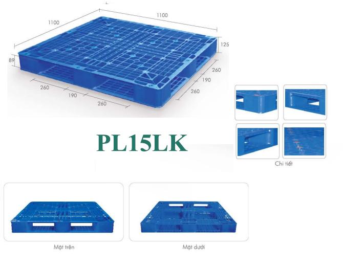 Pallet nhựa PL15LK