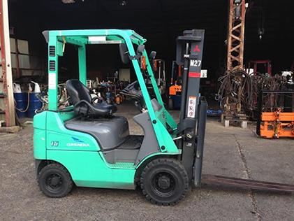 Xe nâng xăng mitsubishi 1.5 tấn