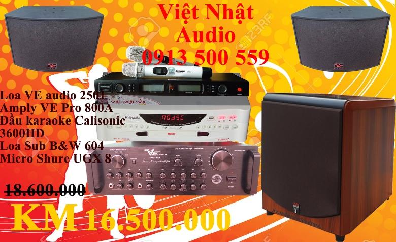 Bộ dàn karaoke 16.500.000