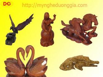 Tượng 12 con giáp- tượng ngựa, tượng dê