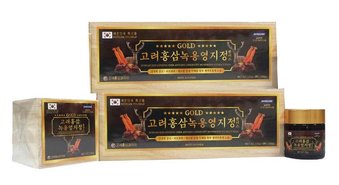 Cao Hồng Sâm Kết Hợp Nhung Hươu Linh Chi