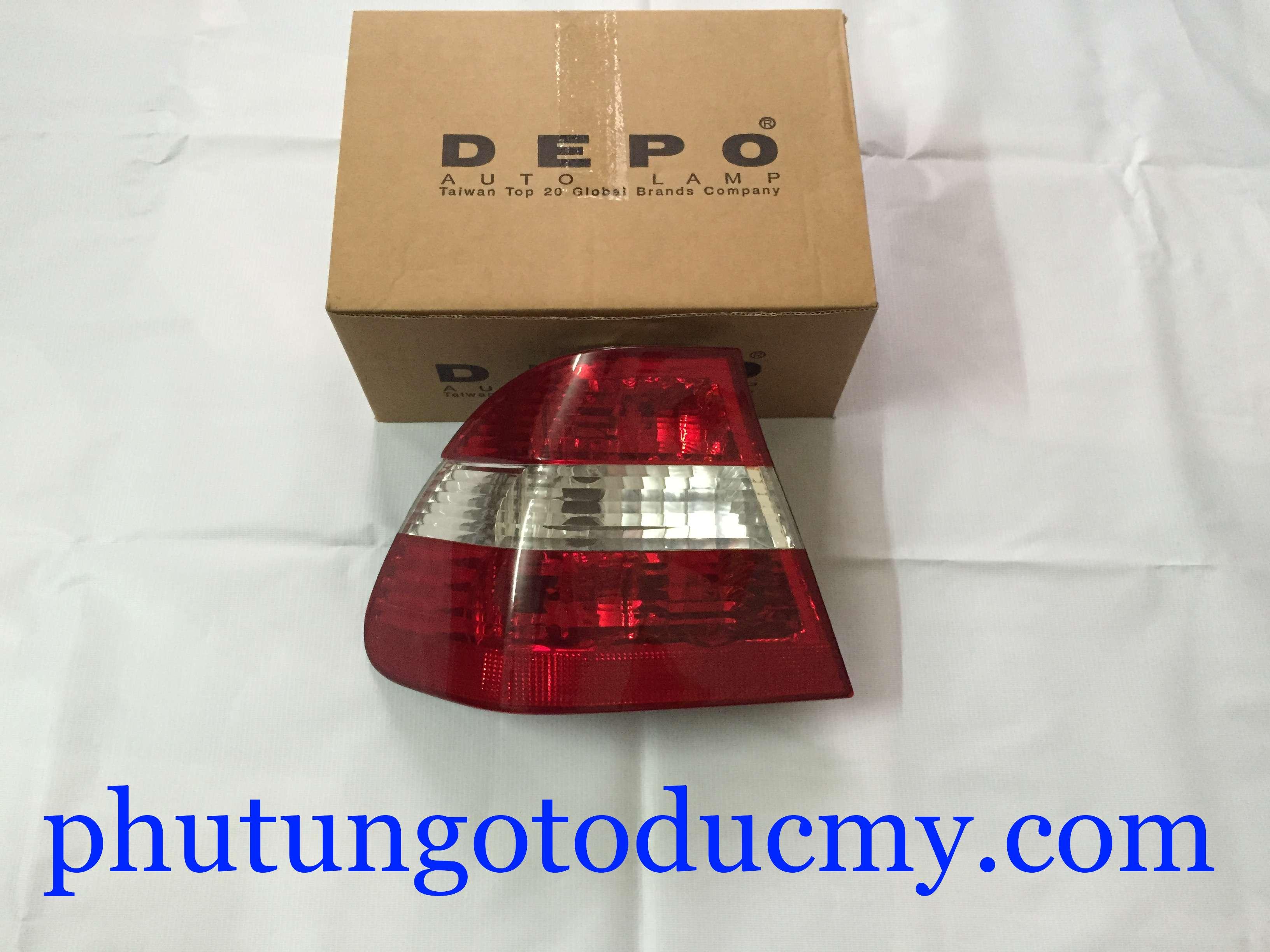 Đèn hậu BMW 318i, 325i E46- 63216946535