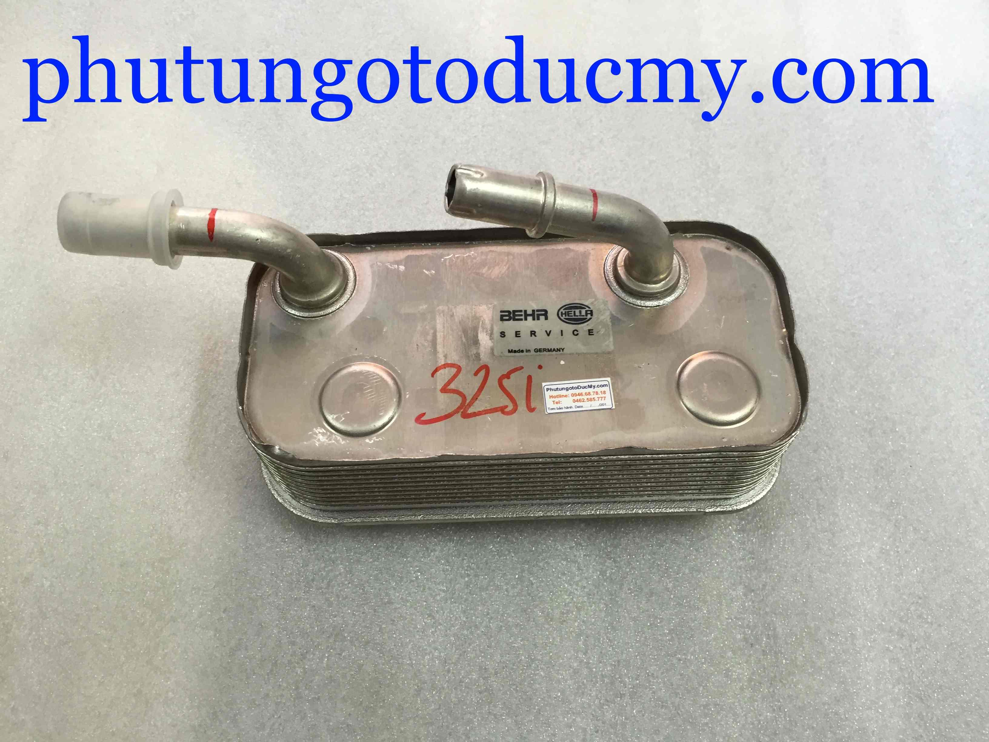 Két làm mát dầu hộp số 318i, 325i E46, X3- 17227505826