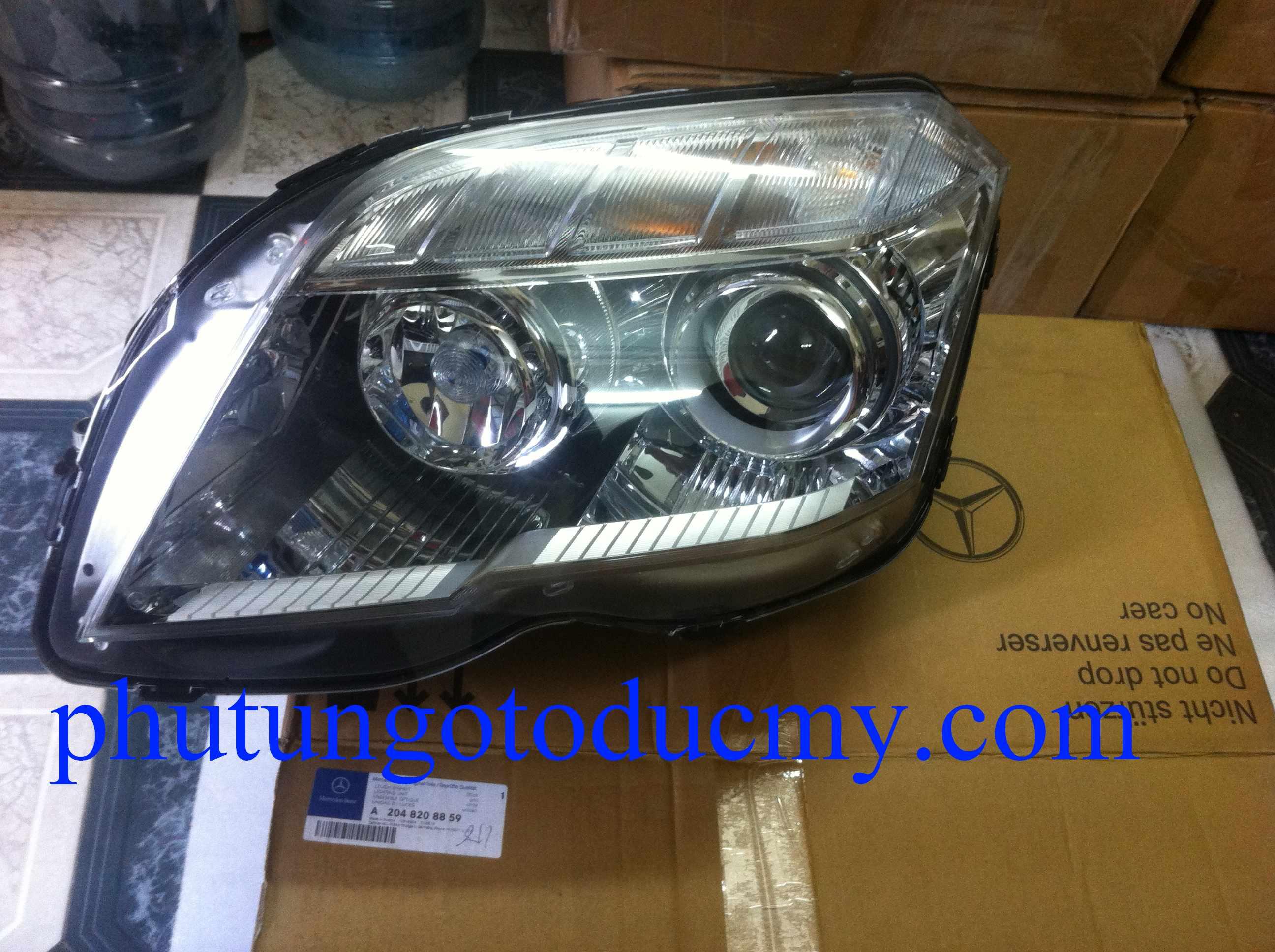 Đèn pha Mercedes GLK300,GLK280 - A2048208859