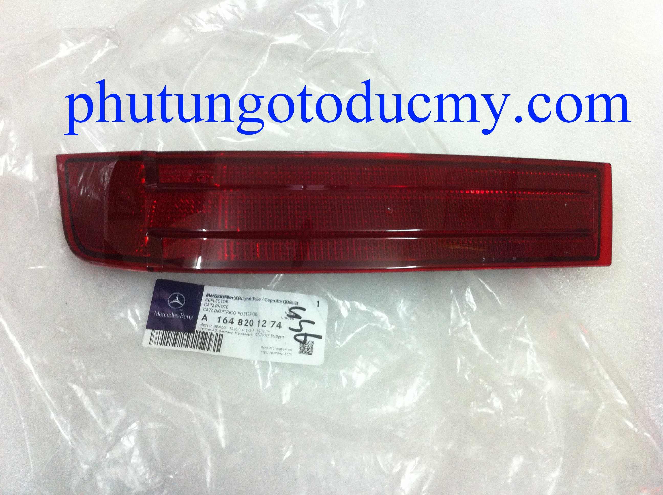 Đèn phản quang cản sau Mercedes GL450,GL550 W164- A1648201174