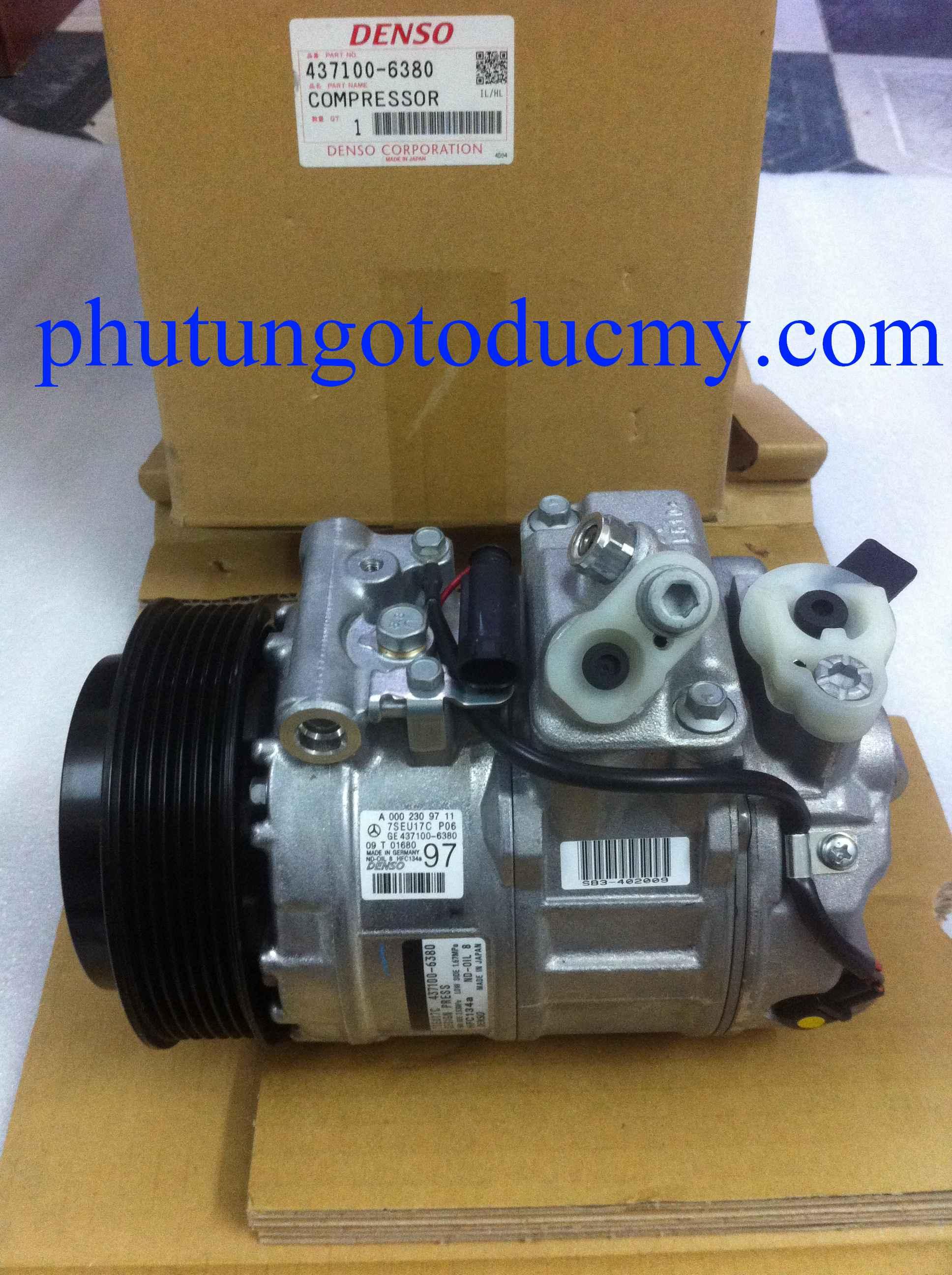 Lốc điều hòa Mercedes C180,C200 W203;C200,C230 W204- A0012305511