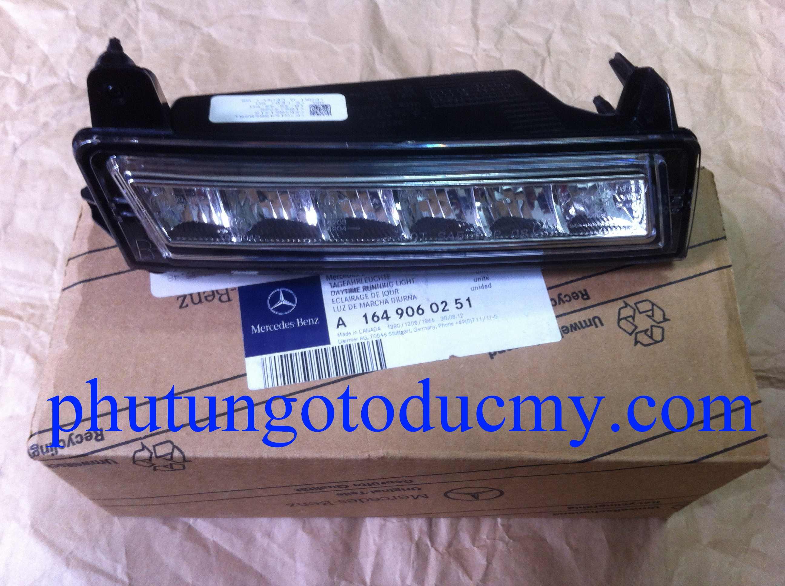 Đèn gầm Mercedes GLK300,GLK220 CDI- A1649060151