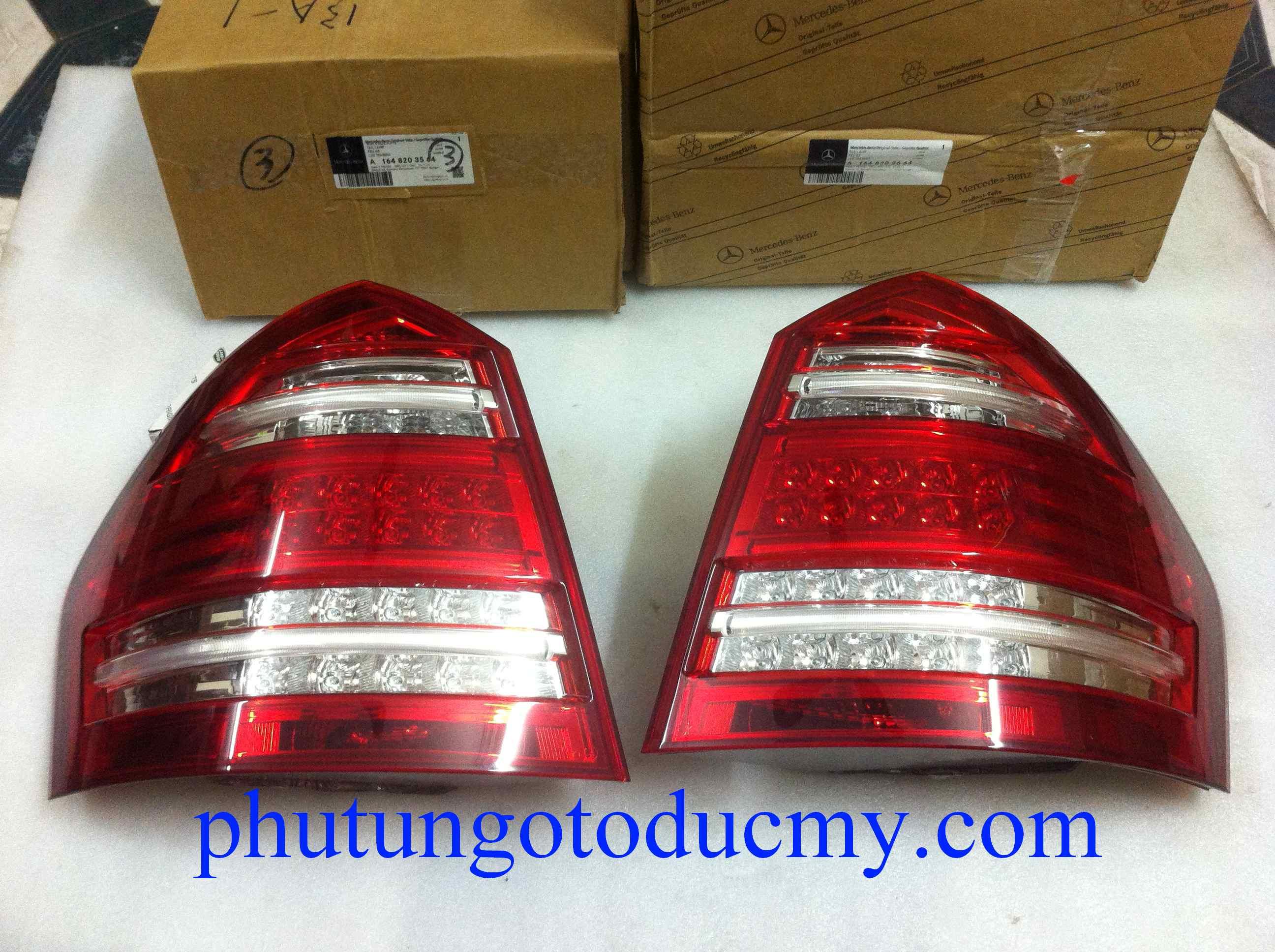 Đèn hậu Mercedes GL450,GL550 2010-2014 - A1648203564,A1648203664