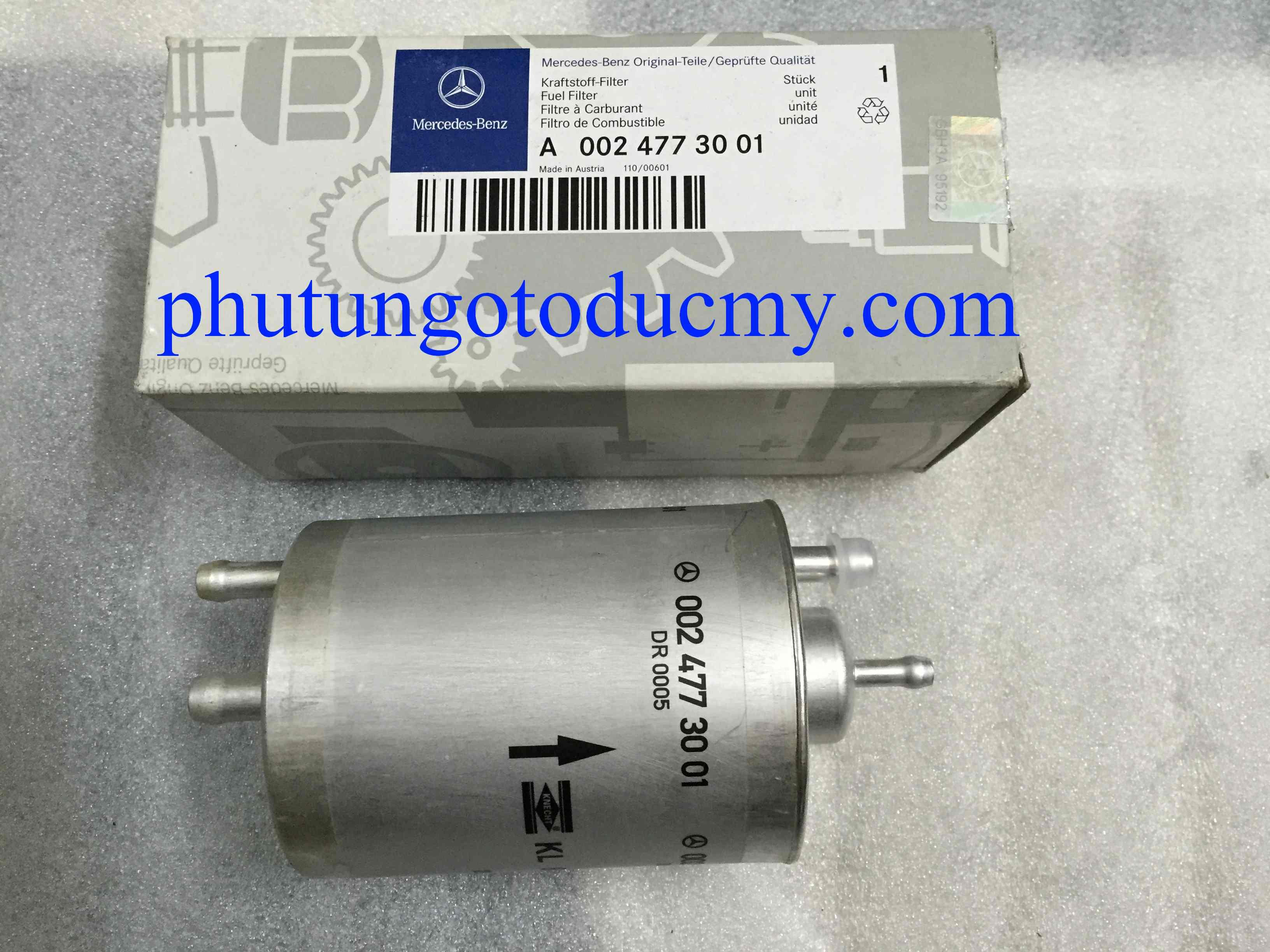 Lọc xăng Mercedes C180,C200,C240 W203- A0024773001
