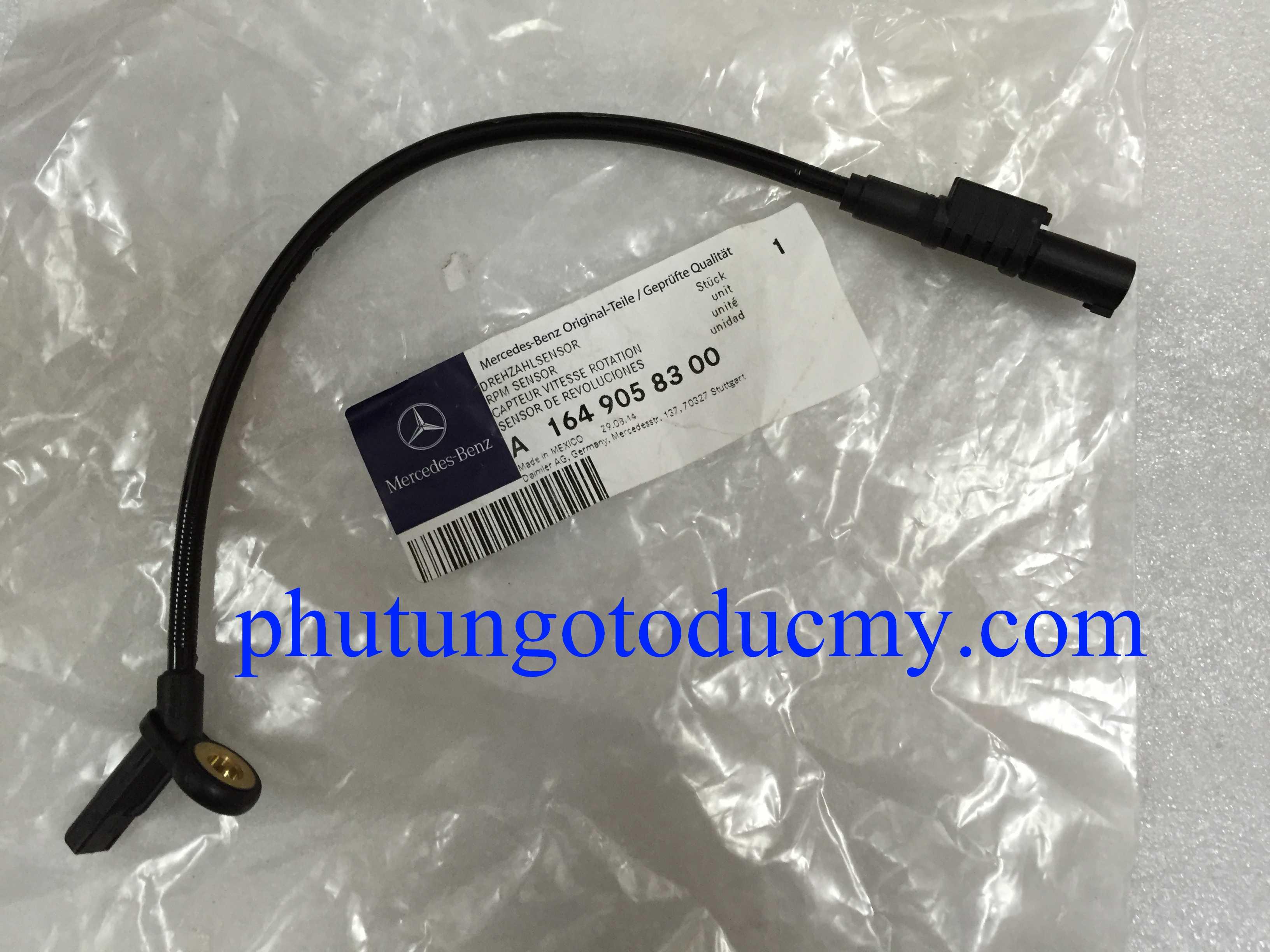Cảm biến abs sau Mercedes GL450,GL550 W164-A1644405641,A1649058300