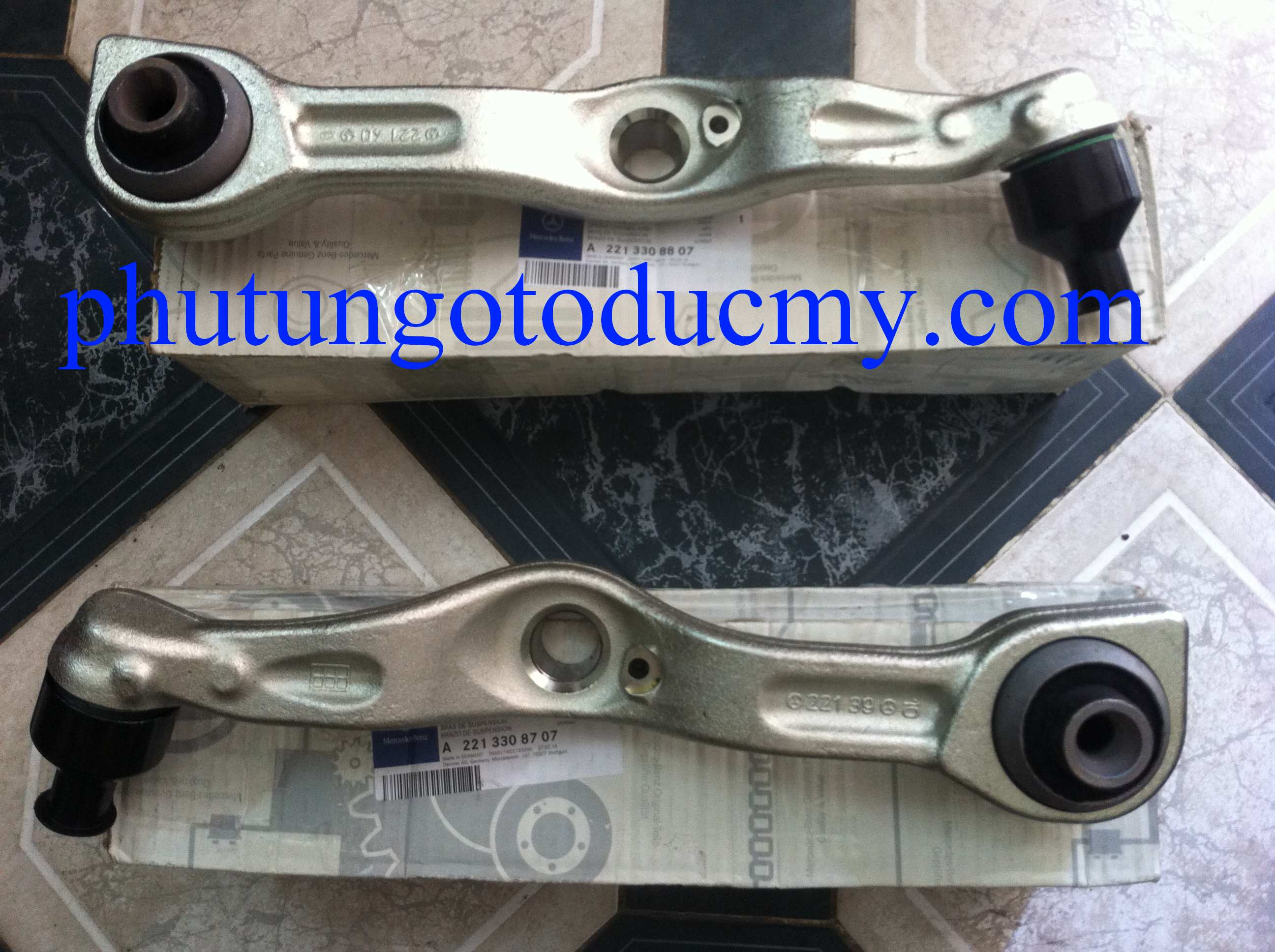 Càng gang Mercedes S63,S65 AMG- A2213308707