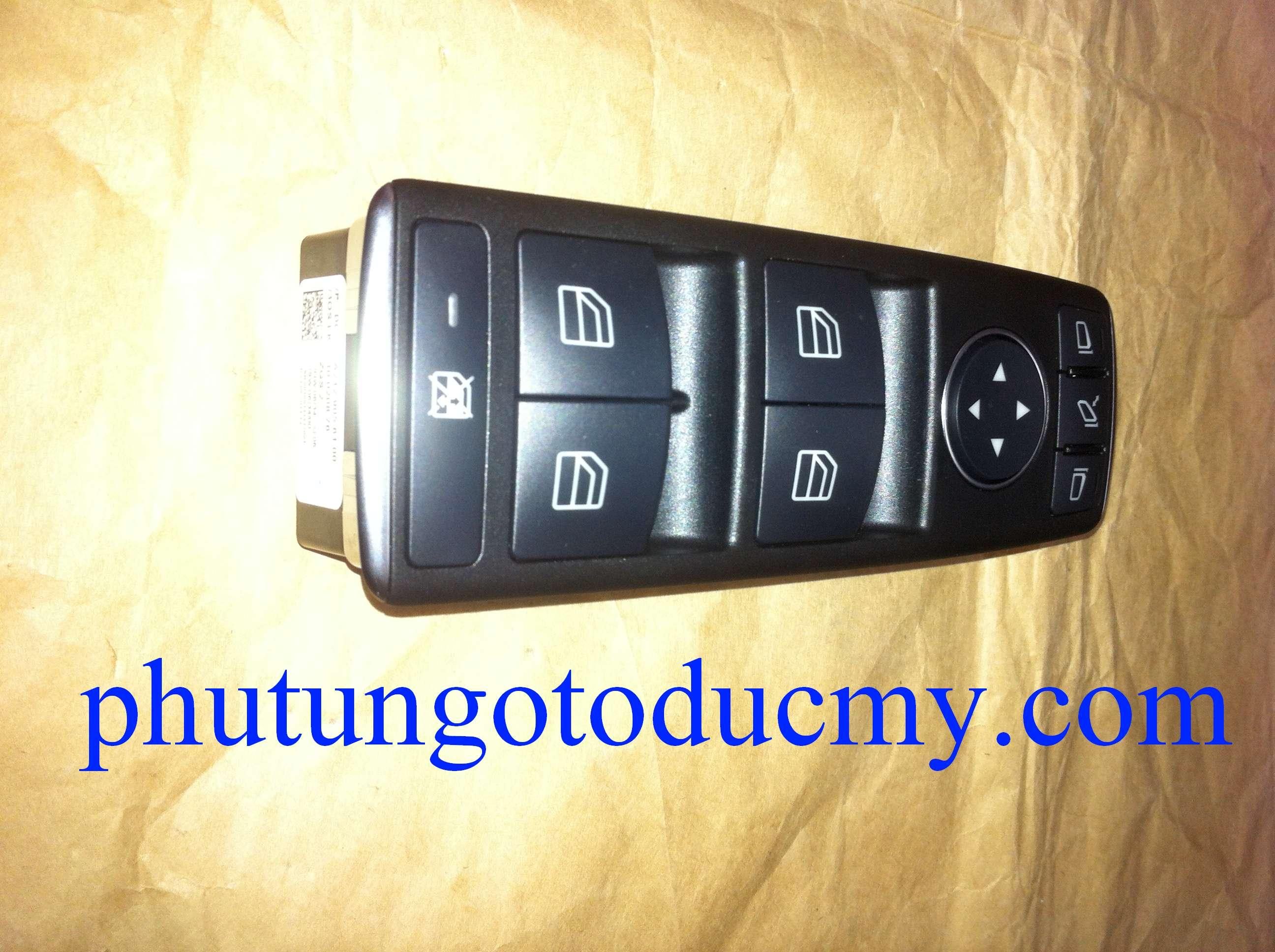 Công tắc lên kính Mercedes GLK300,GLK250;E250 E300 W212-A2128208310