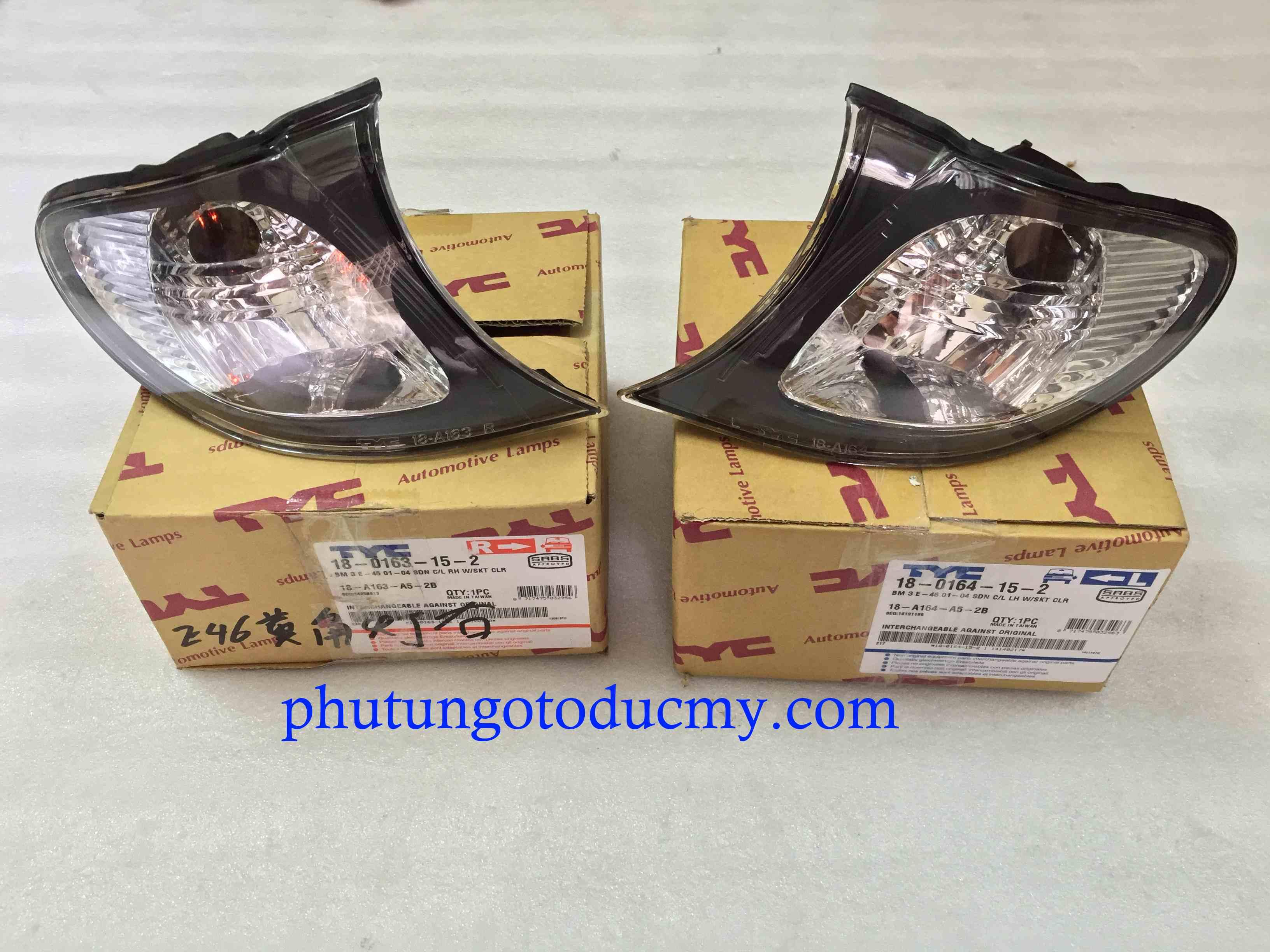Đèn xi nhan Bmw 318i,325i E46 - 63137165849