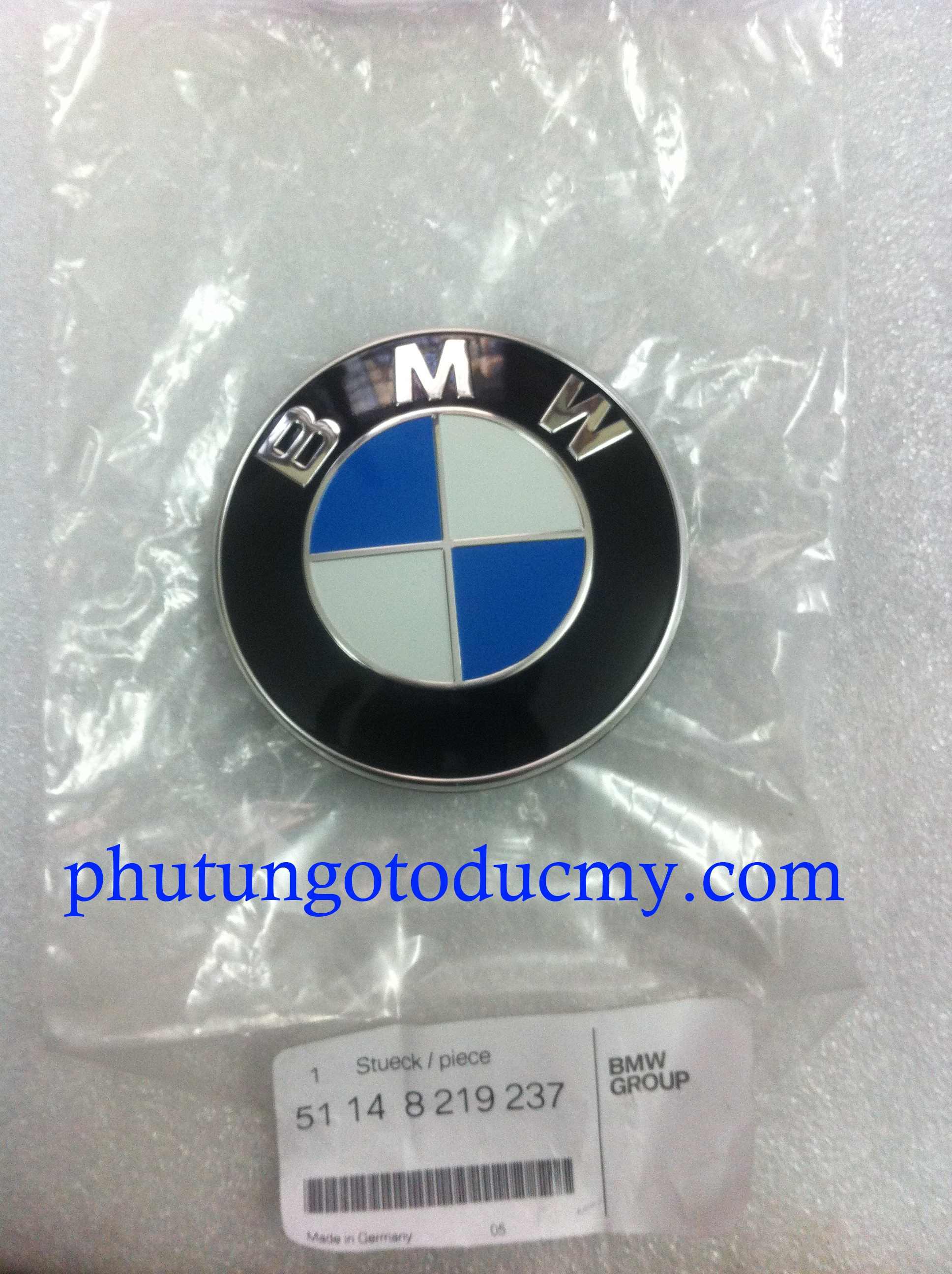 Logo nắp capo BMW 318i,325i,X5,X6 - 51148132375