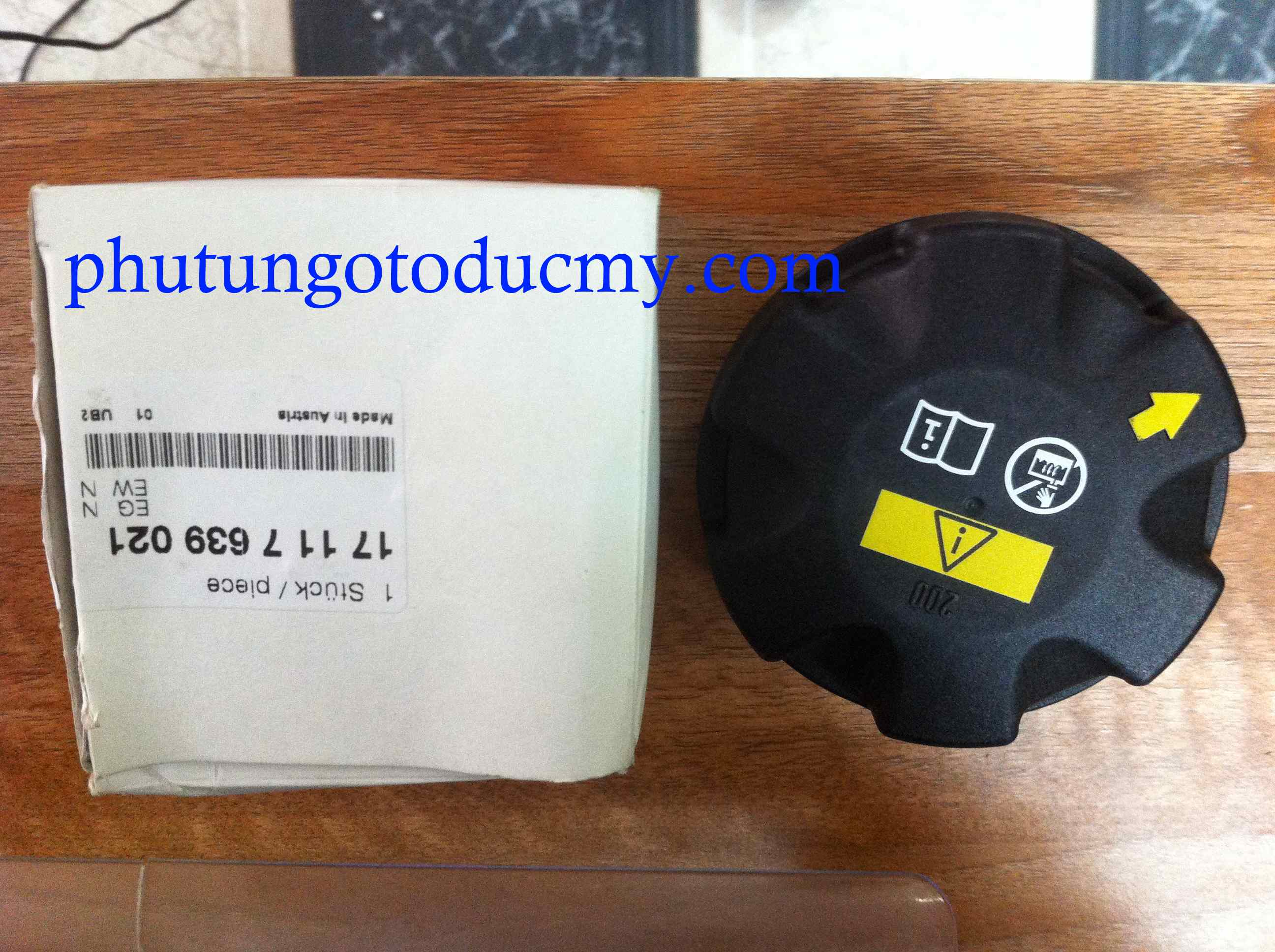 Nắp bình nước phụ Bmw X5 E70, X6 E71 - 17117639021