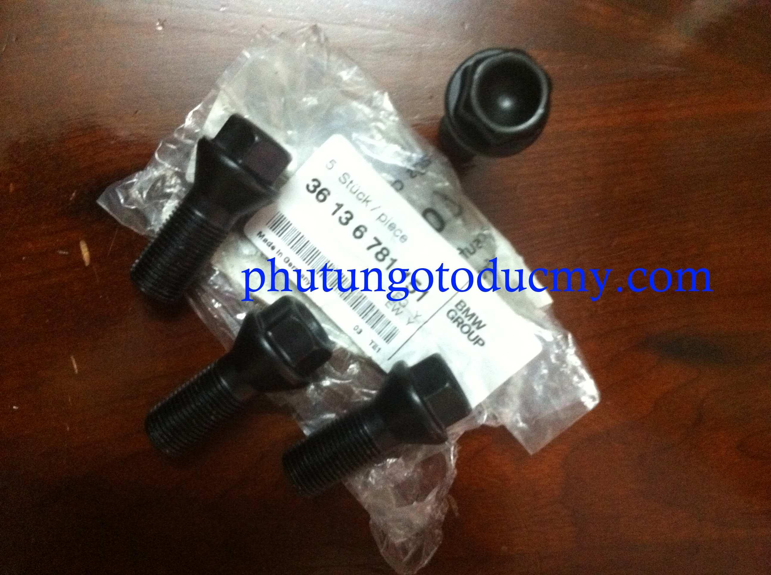 Ốc lốp Bmw X5,X6; 520i, 528i F10 - 36136781151