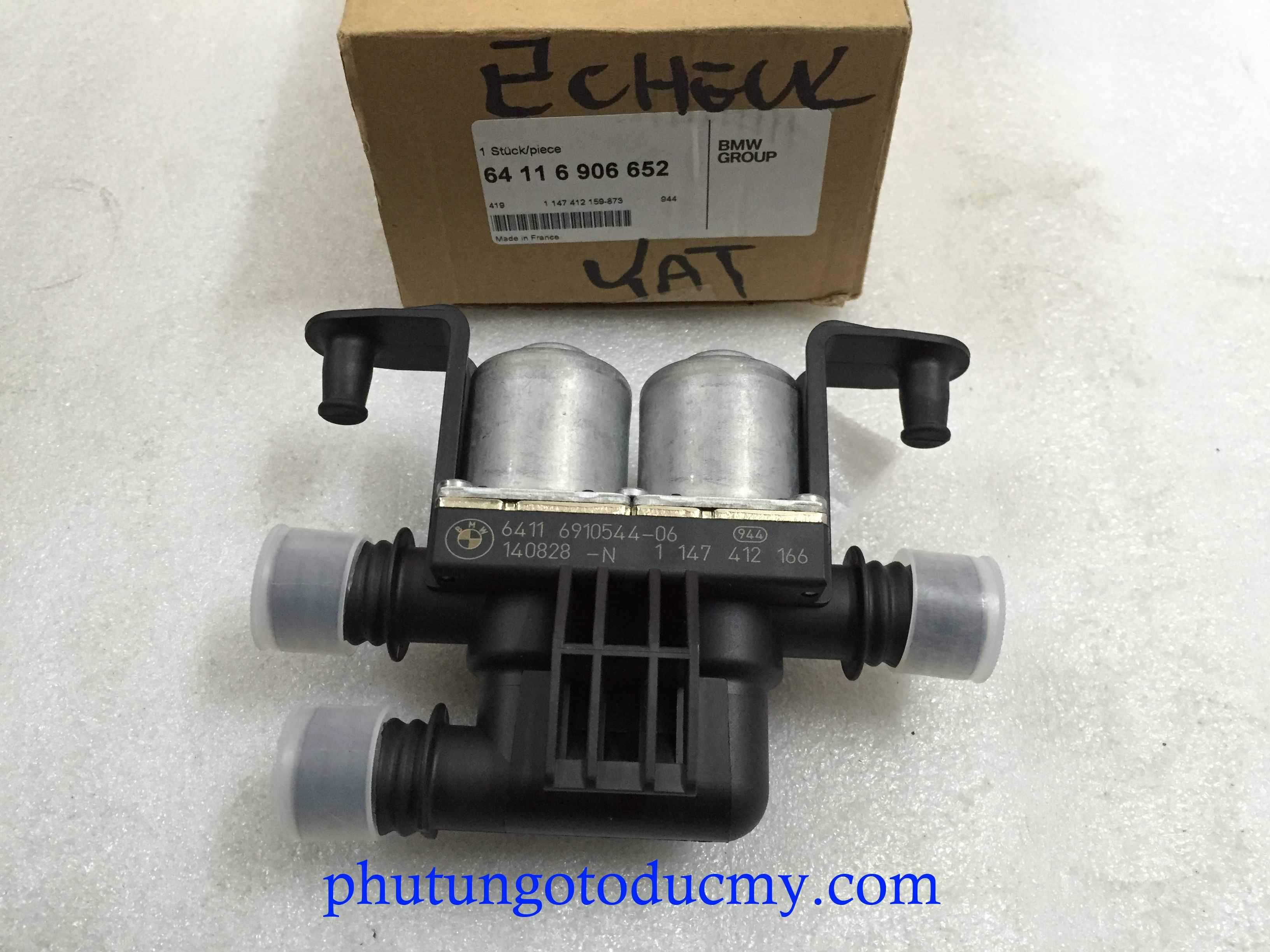 Van nước nóng điều hòa Bmw X5, X6
