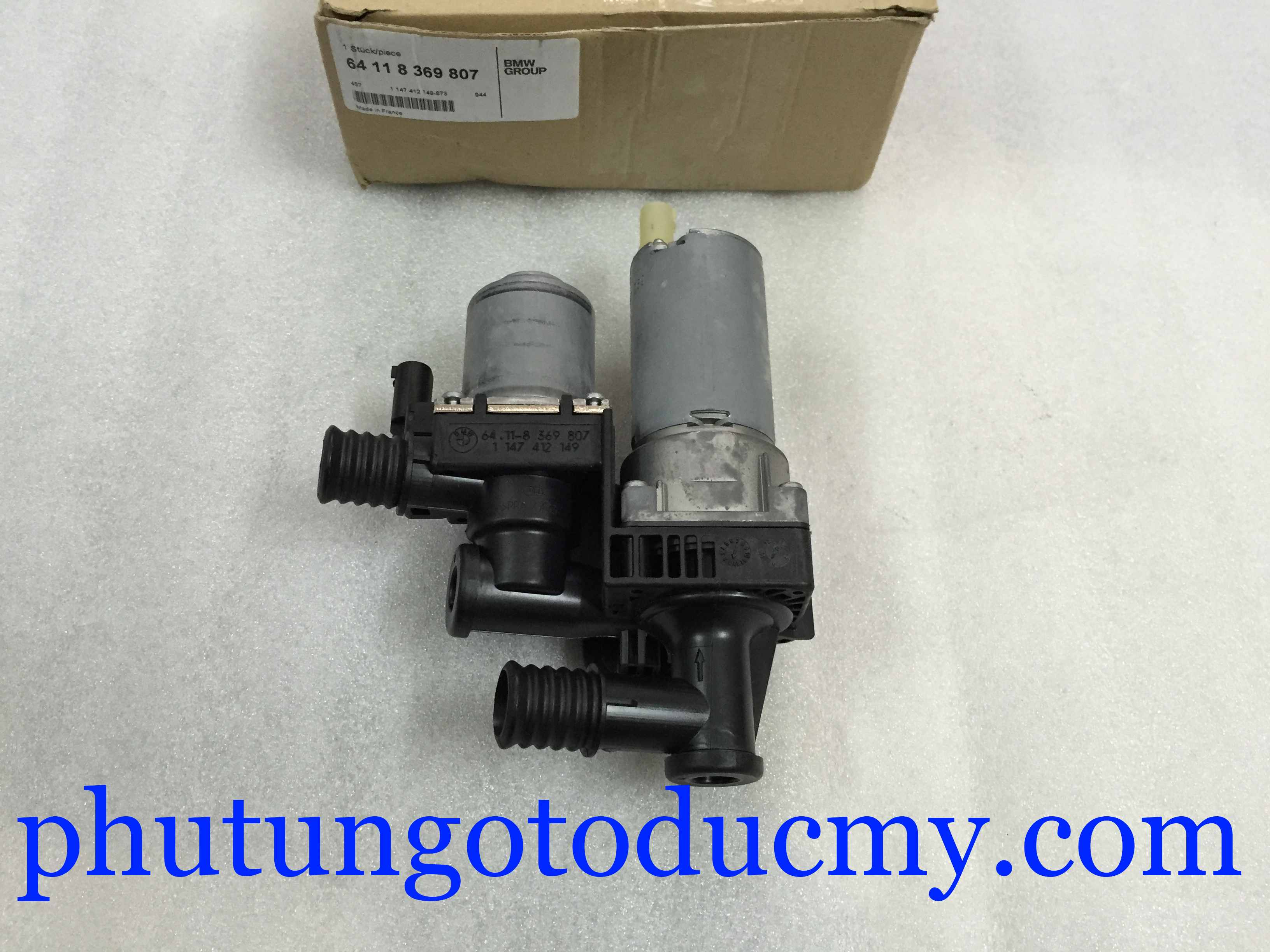 Van nước nóng điều hòa BMW 318i E46, X3 E83- 64118369807