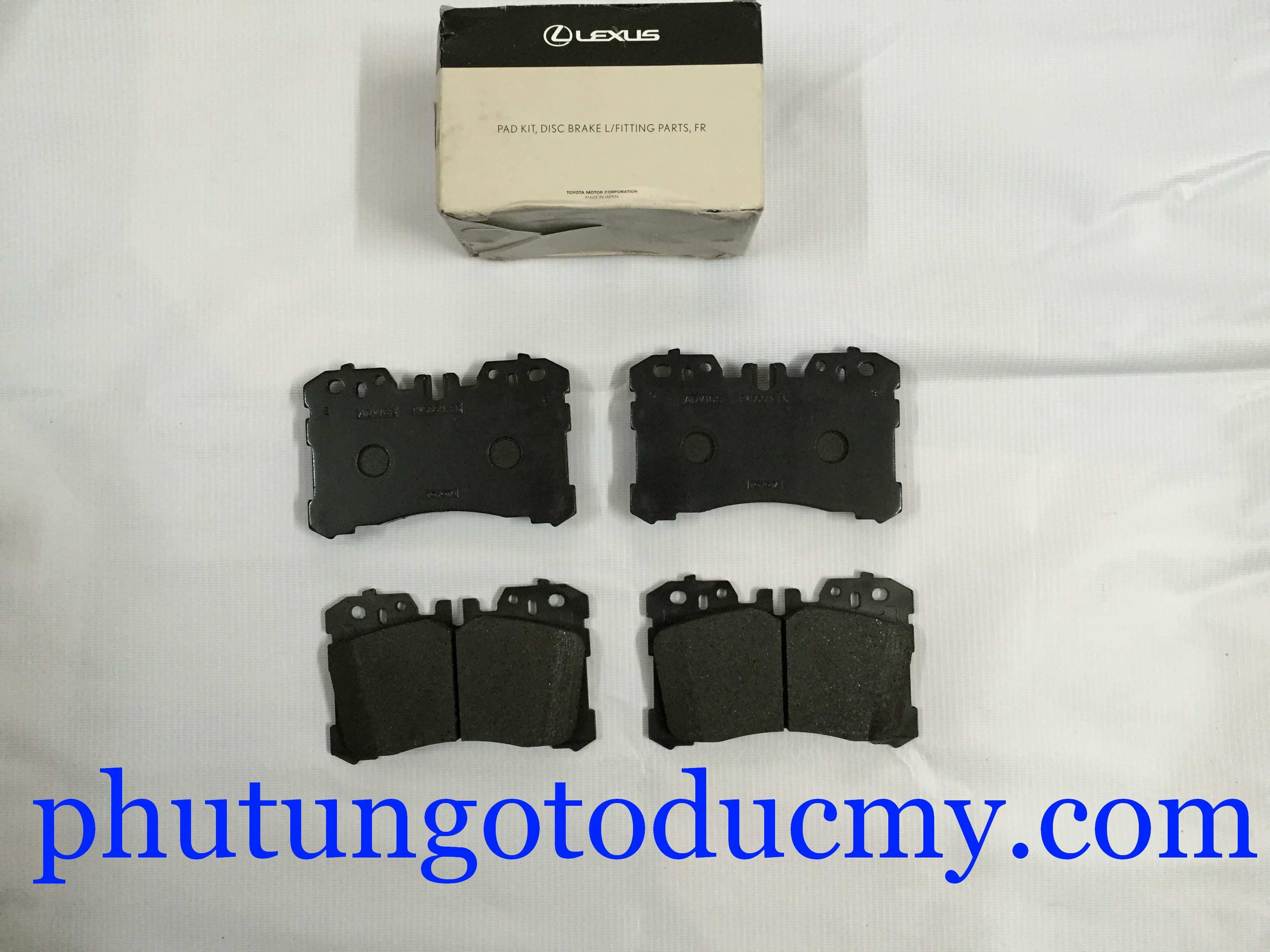 Má phanh trước Lexus LS460, LS600H, 04465-50260, 04465-0W110