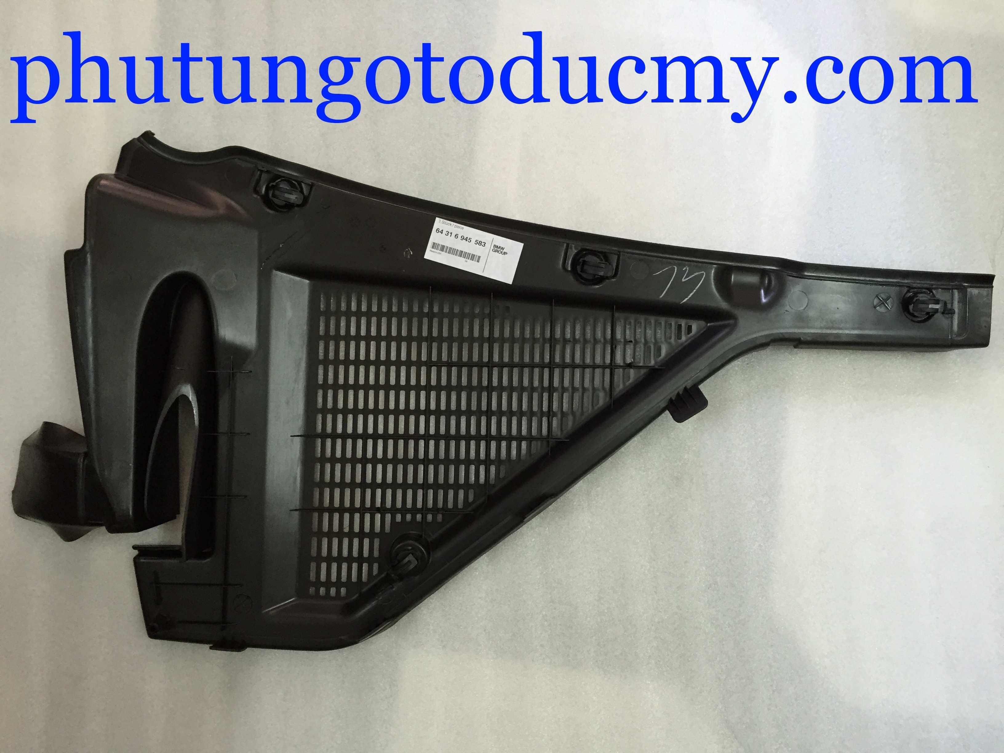 Ốp nhựa lọc gió điều hòa X5 E70, X6 E71- 64316945583