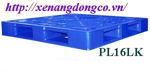 pallet nhựa mới PL16LK 1200 x1200 x 150mm