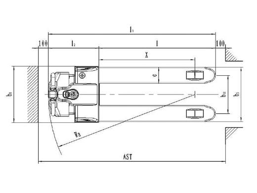 Xe nâng tay điện SPT15N, giá tốt hàng có sẵn