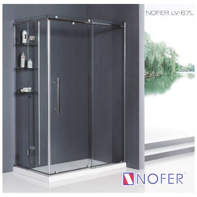 Phòng tắm vách kính Nofer LV-67