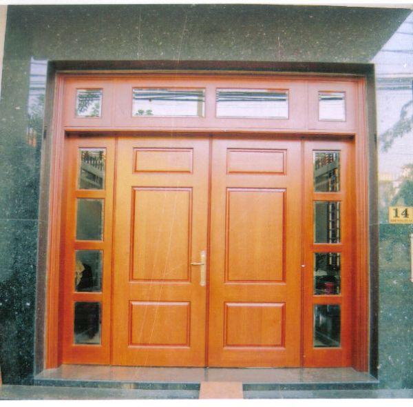 cửa gỗ dổi(gõ tự nhiên)