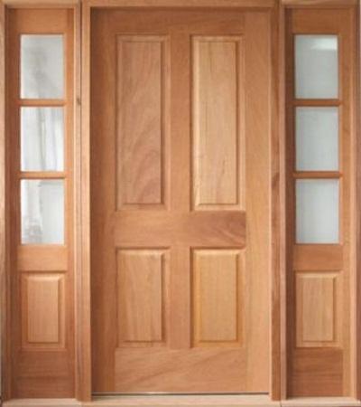cửa đi 4 cánh gỗ sồi nga