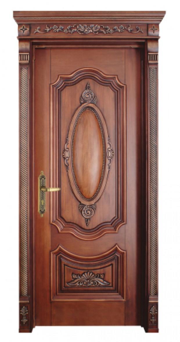 cửa gỗ lim trạm trổ hoa văn