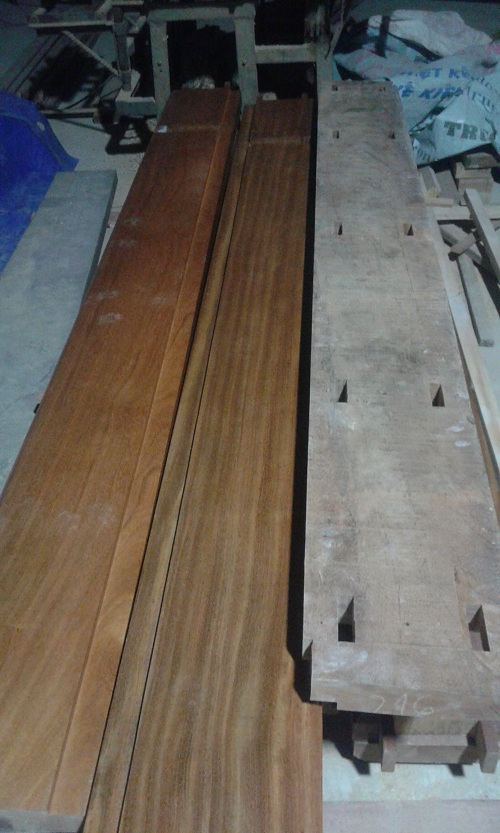 khuôn cửa gỗ tự nhiên gỗ lim