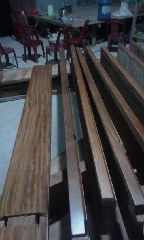 khung cửa gỗ lim đẹp | gỗ lim lào