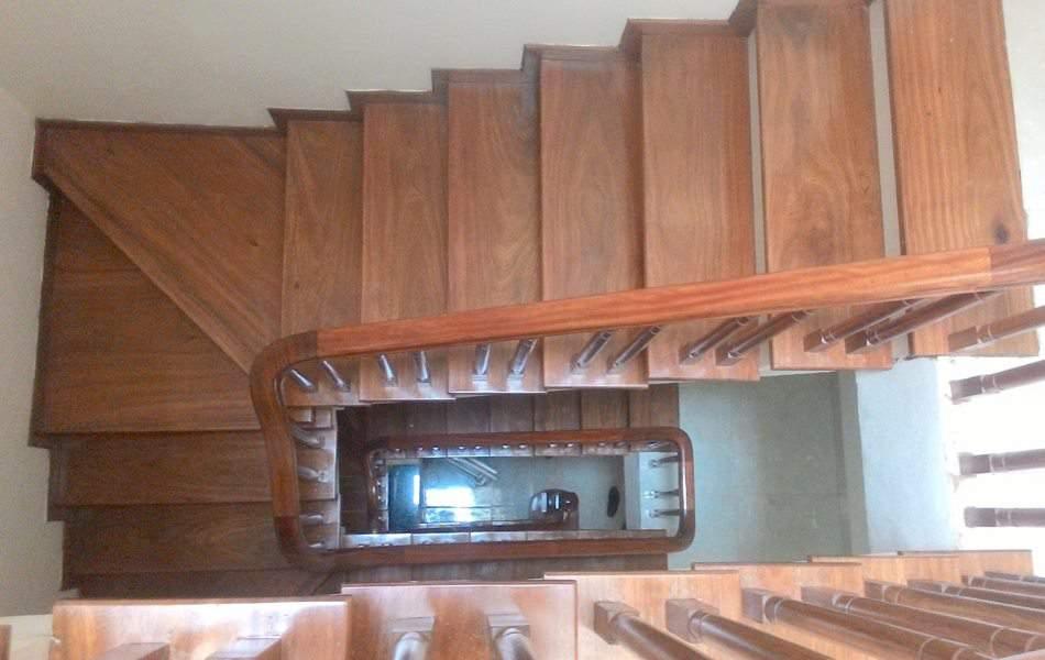 Cầu thang đẹp mẫu cầu thang này rất được chủ đầu tư yêu thích
