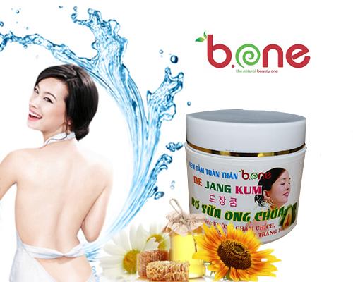 Tắm trắng Bơ sữa ong chúa De Jang Kum