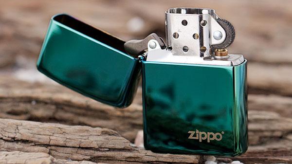 Zippo Chameleon with Zippo Logo