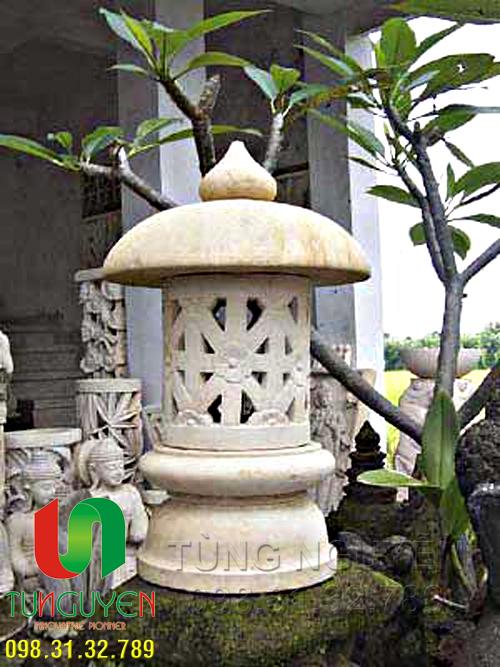 Cột đèn trang trí (chất liệu xi măng)