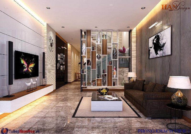 Thiết kế nội thất, tủ bếp, chung cư Hòa Bình Green City