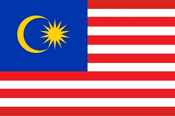 Cờ các nước ASEAN - Cờ Liên bang Malaysia
