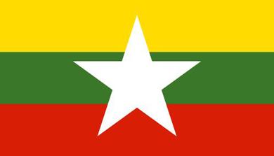 Cờ các nước ASEAN - CờLiên bang Myanma