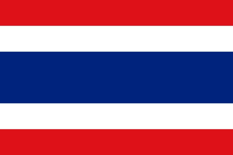 Cờ các nước ASEAN - Cờ Thái Lan