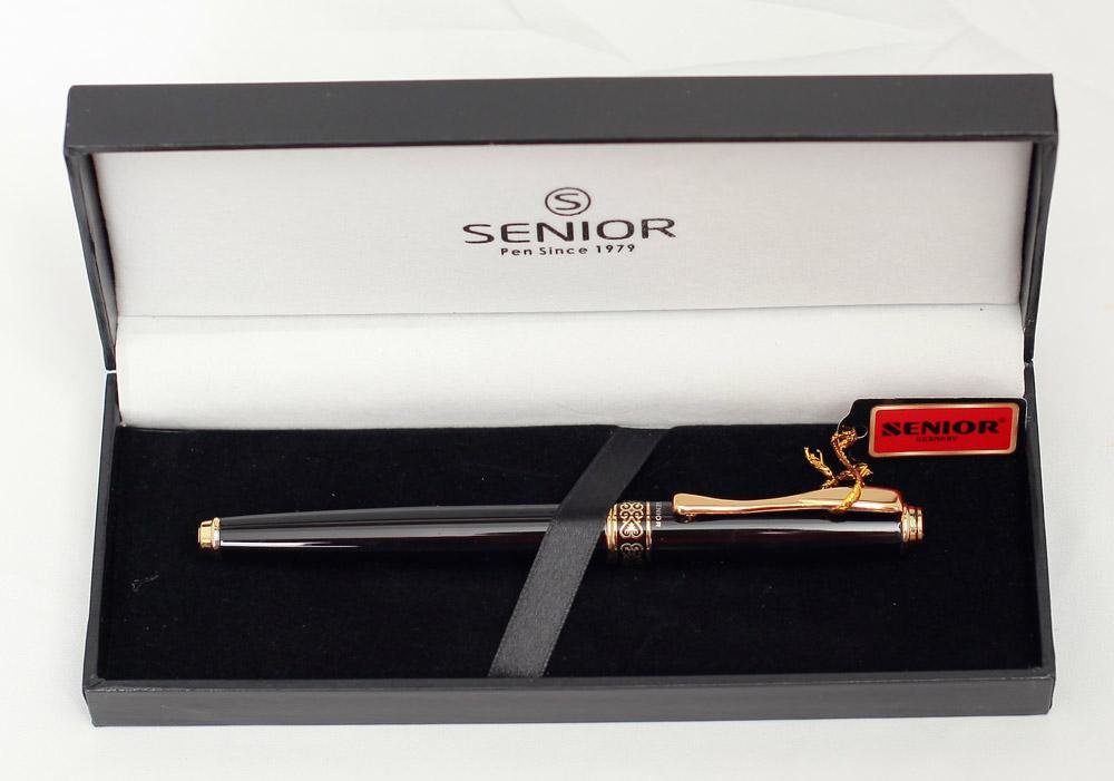 Bút và hộp đựng bút dạ bi Senior SN 707RBK