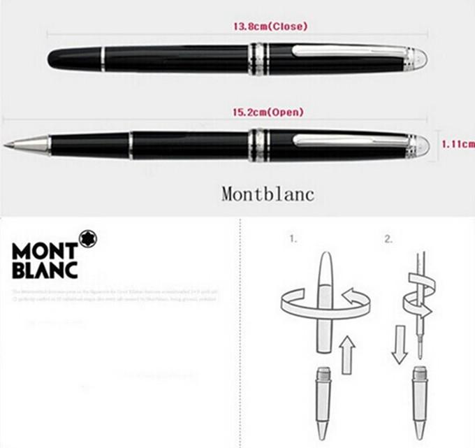 Thiết kế bút cao cấp Montblanc MB10