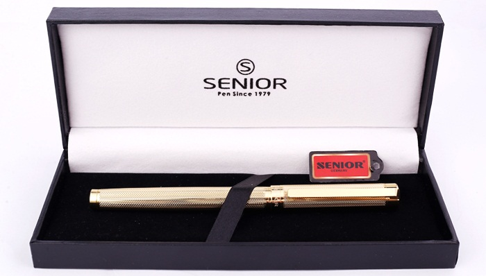 Bút ký cao cấp Senior SN 816RG màu vàng