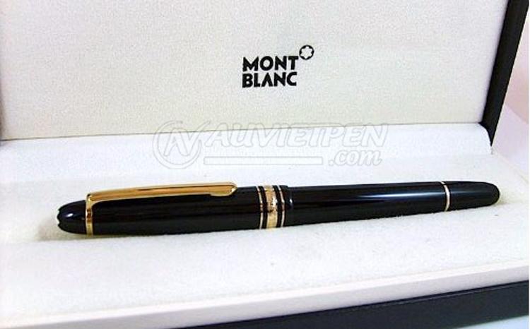 Bút máy Montblanc Meisterstück 145 cài vàng