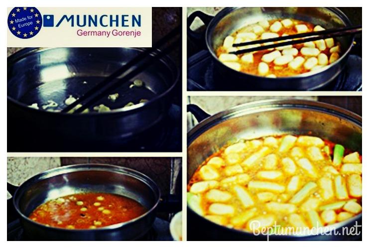 Bánh gạo ngon cùng bếp điện từ Munchen