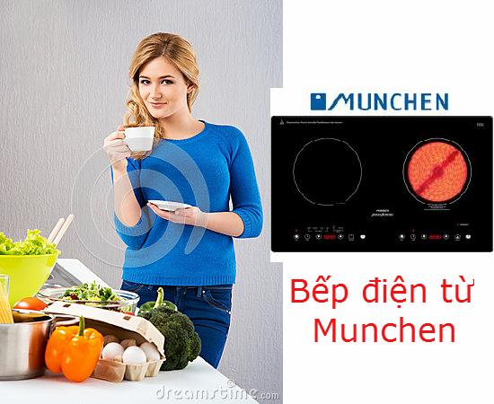 Bếp điện từ Munchen khẳng định đẳng cấp vượt trội