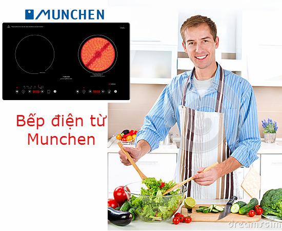 Những ưu điểm nổi bật của bếp điện từ Munchen