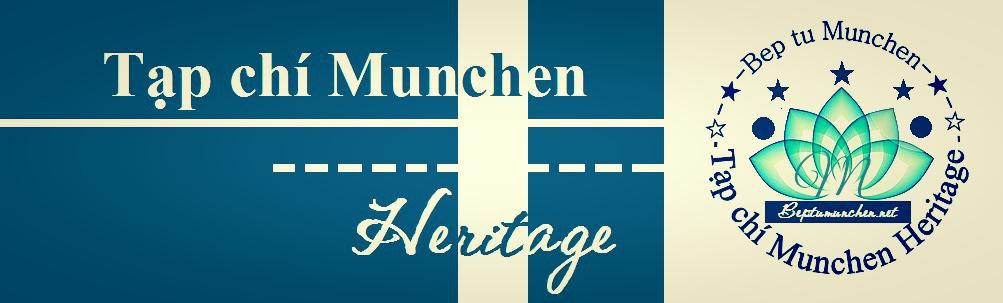Tạp chí Munchen Heritage- Ấn phẩm của Bếp từ Munchen