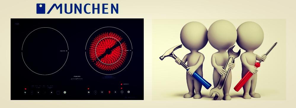 Bếp điện từ Munchen MC200i: lắp đặt và sử dụng an toàn